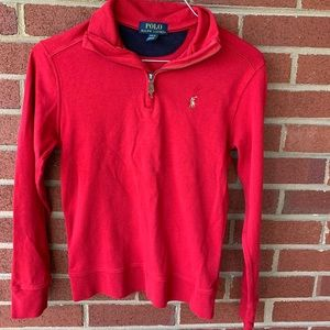 Ralph Lauren Polo Red top size medium